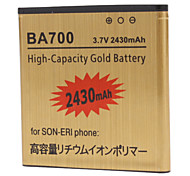 BA700 2430mAh Cell Phone Battery for Sony BA700