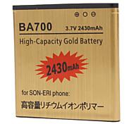 BA700 batterie de téléphone portable 2430mAh pour Sony BA700