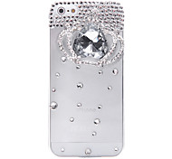Crystal Crown Jewelry Covered Back Case for iPhone 5/5S