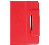 360 Degree Rotating Case with Stand for 7 Inch Tablet(Red)