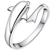 Z&X®  (1 pc)Sweet Women's Silver Alloy Rings