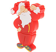 Plastic Cartoon Santa Claus Model USB 16GB
