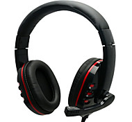 Senic G-927 3.5mm Hi-fi Stereo Gaming Headset with Microphone for Laptop PC