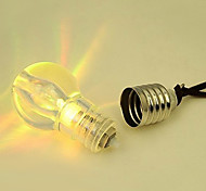 Xmas Gift Light Bulb Pendant Necklace Cute Bulb Charm Necklace Chain