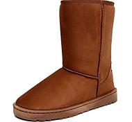Mid-panturrilha isolados botas de inverno da Mulher