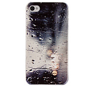 Design unico PC Hard Case Cover Relievo Series acqua Indietro per iPhone 4/4S