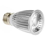 Spot Lampen E26/E27 5 W 420-450 LM 6000-6500 K 1 COB Kühles Weiß AC 85-265 V