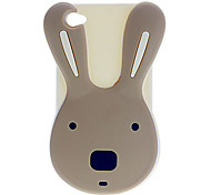 Rabbit Style Soft Case for iPhone 4/4S(Assorted Color)