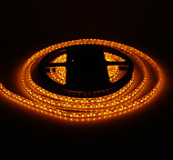 Waterproof 5M 48W 120x3528SMD 1800-2400LM Yellow Light LED Strip Light (DC12V)