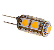 G4 2W 9x5050SMD 81LM Warm/Cool White Light LED Bulb for Car (DC 12V)