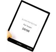 Fotga Premium LCD Screen Panel Protector Glass for Nikon D5100