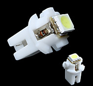 T5 B8.5D 5050 SMD Car LED Indicator Light Gauge Speedo Dashboard Side Interior Lamp Bulb White