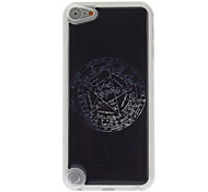 Cool Five-Pointed Star Compass Pattern Epoxy Hard Case for iPod Touch 5