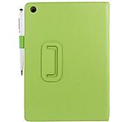 Sono PU caso de corpo inteiro com Auto Stand, Slot para cartão e caneta esferográfica Stylus para iPad Air (cores sortidas)