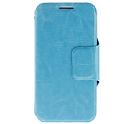 Horse Skin Print Pattern PU Leather Protective Pouches for Samsung Galaxy S4 Mini I9190