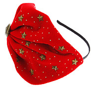 Fashion Red Fabric Headbands For Women