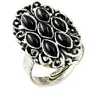 Black Flower Ring(Random Color)