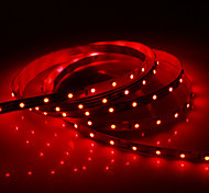 5M 24W 60x3528SMD 900-1200LM Red Light LED Strip Light (DC12V)