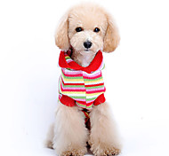 Lovely Classic Stripes Pattern Sweater with Hoodie for Pets Dogs (Assorted Sizes)