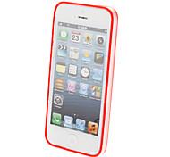 Special Design Extra dünne Transparent Bumper Rahmen für iPhone 5/5S (verschiedene Farben)