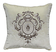 "18 ""Euro Plaza bordada almohada cubierta decorativa Arabesque"