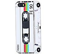 Joyland Tape Pattern ABS Back Case for iPhone 5/5S