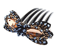 Fashion Crystal Hair Combs For Women