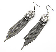 European Style Alloy Tassel Drop Earrings