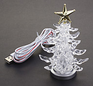 Colorful USB Light Christmas Tree Christmas Decoration