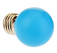 E26/E27 1W 12 40 LM Blue LED Globe Bulbs AC 220-240 V