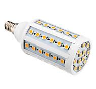 Bombillas LED de Mazorca T E14 10W 60 SMD 5050 850-890 LM Blanco Cálido AC 100-240 V