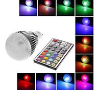 Globe Bulbs , GU10 9 W 300 LM RGB AC 100-240 V