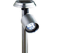 Cool White Light LED Solar Steel Spotlight Solar Lighting