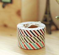 Vertical Cross Grain Fabrics Tape(1 PCS Random Color)