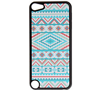 Shimmering Colorful Cross and Diamond Pattern Hard Case for iPod touch 5