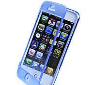 Сенсорный экран ТПУ Прозрачный Полный Дело орган для iPhone 4/4S (разных цветов)