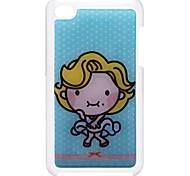 Estilo de dibujos animados cortó el caso duro de epoxy del patrón de Marilyn Monroe para el iPod Touch 4