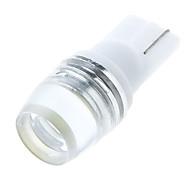 T10 W5W 168 194 W5W 1W luce dell'obiettivo Lampada LED laterale del cuneo della lampadina Bianco