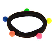 Fashion Multicolor Imitation pearl Hair Ties For Kids(Golden And Silver And More)