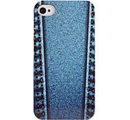 jean Muster ABS zurück Fall für iphone 4/4s