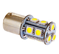 BA15S/1156 13x5050SMD 3W 117LM 6000-7000K fresco White Light Bulb LED para carro (DC 12V)