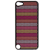 Shimmering Colorful Dots Pattern Hard Case for iPod touch 5
