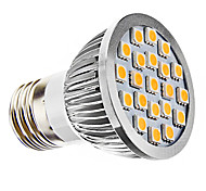 Spot LED Blanc Chaud MR16 E26/E27 3W 21 SMD 5050 240 LM AC 110-130 / AC 100-240 V