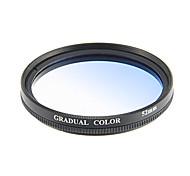 52mm Gradual Blue Filter Lens Film (Blue)