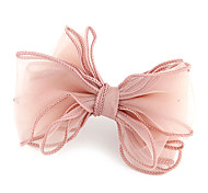 Lady Multilayer Fabric Bowknot Hair Ties