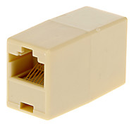 RJ45 Female to Female Adapter Beige