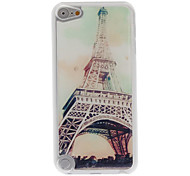Magnificent Eiffel Tower Pattern Epoxy Hard Case for iPod Touch 5