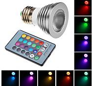 Luces Dirigidas (RGB , A control Remoto) - E26/E27 W AC 100-240