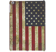 Retro Style American Flag Pattern Hard Case for iPad Air
