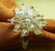 Акриловое кольцо с кристаллами для салфеток